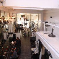 interior design for luxury salon, spa and skincare supplies boutique