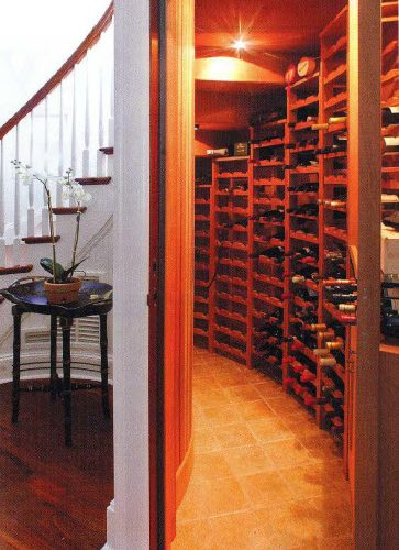 making a home wine cellar