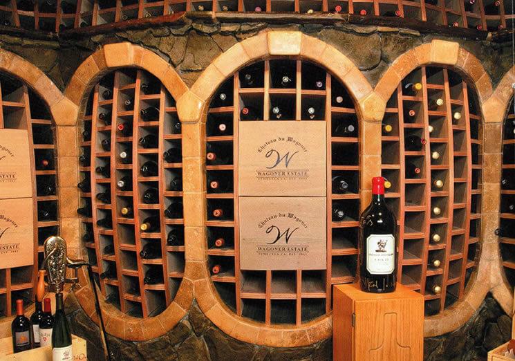 building a home wine cellar