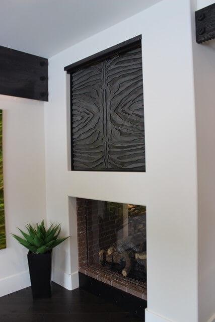 custom feature, fireplace
