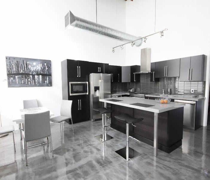 7th Street Lofts interior design