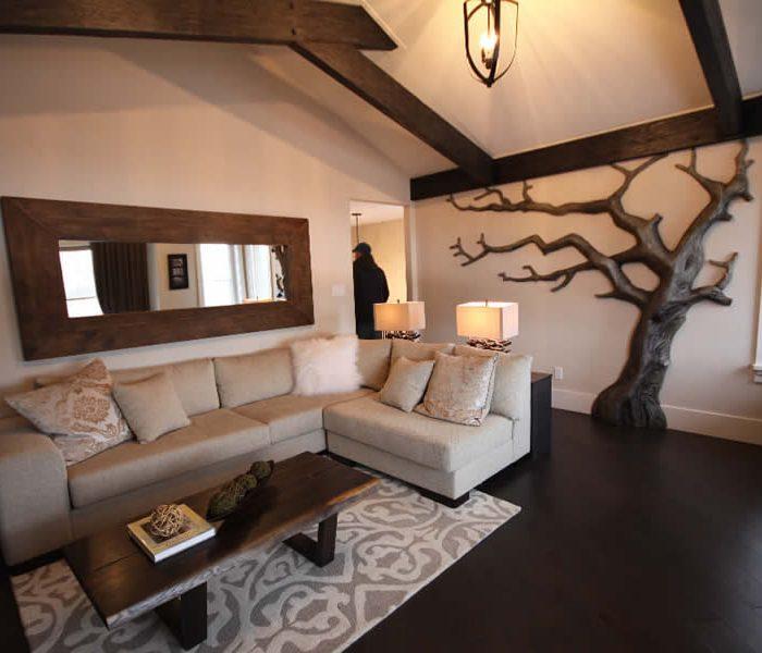 lottery showhome interior design